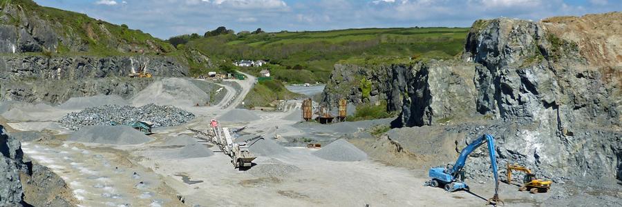 Dudman Group West of England Quarry