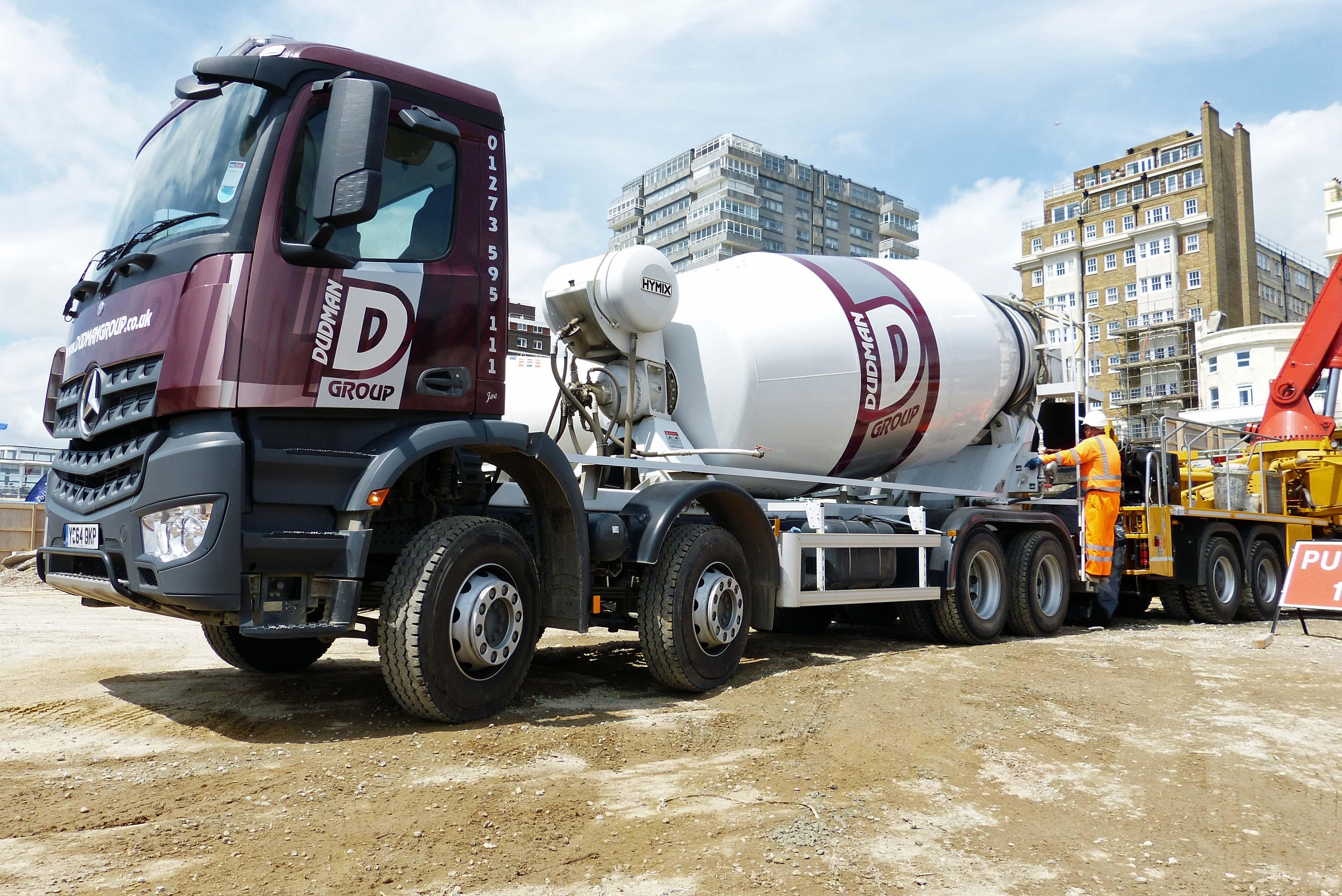 Dudman concrete mixer