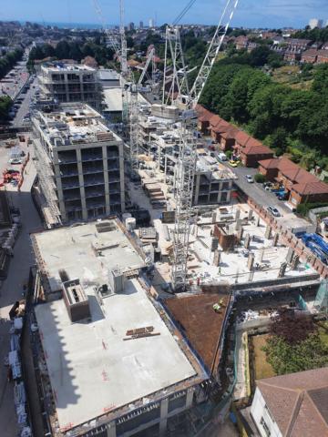 Construction of the new blocks
